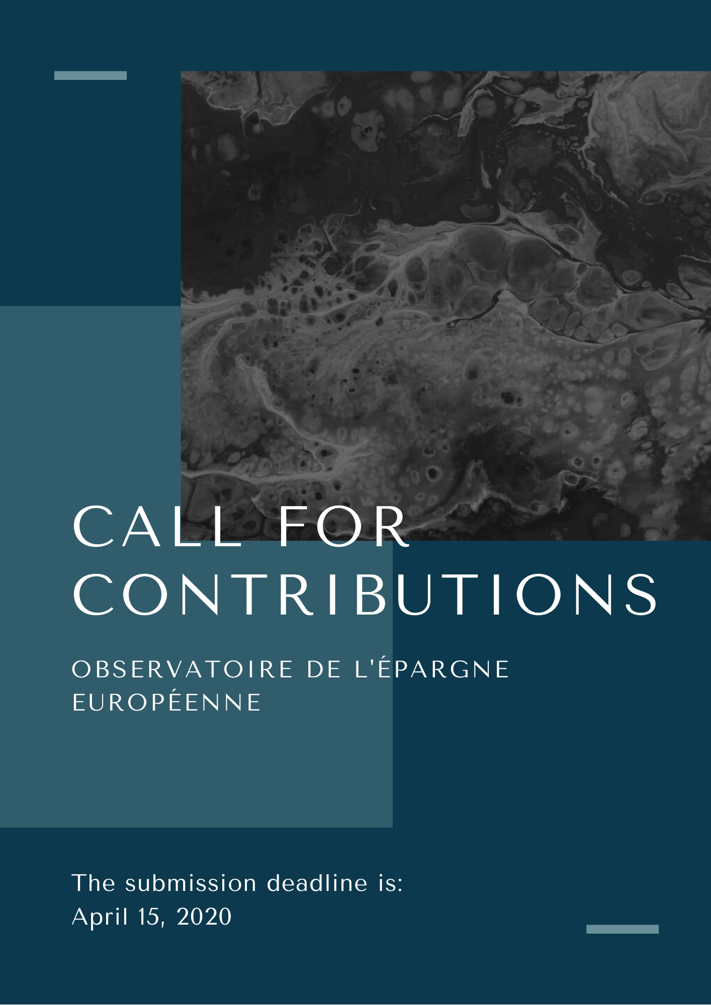 Call for contributions OEE 2020