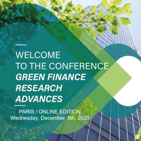 Green Finance Research Advances