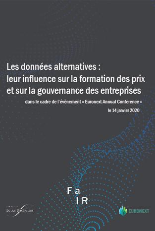 Table ronde FaIR : Les données alternatives : leur influence sur la formation des prix et sur la gouvernance des entreprises