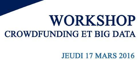 Workshop Crowdfunding et Big Data