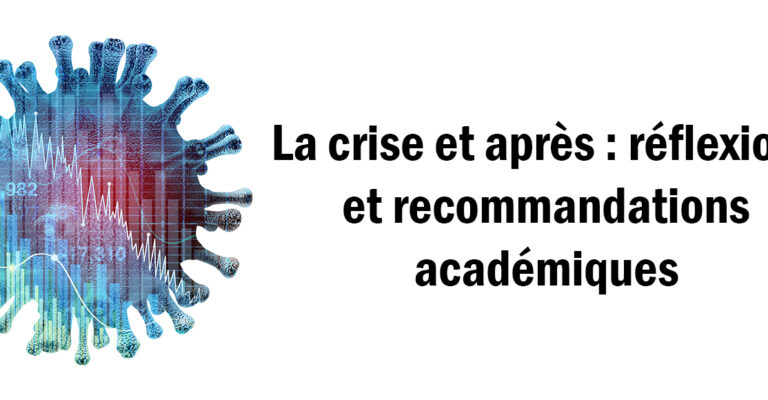 The crisis and beyond: academic insights and recommendations
