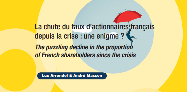 The puzzling decline in the proportion of French shareholders since the crisis