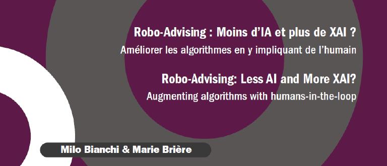 Robo-Advising : Moins d'IA et plus de XAI ?