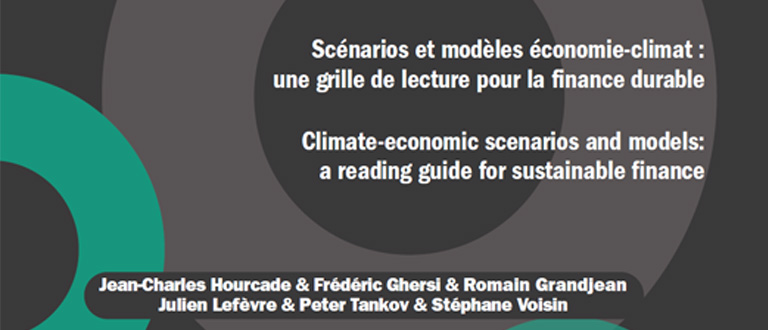 Climate-economic scenarios and models: a reading guide for sustainable finance